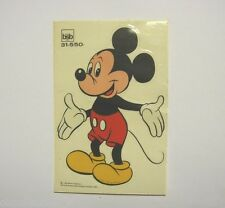 VECCHIO ADESIVO anni '70 bsb decor /Old Sticker DISNEY TOPOLINO MOUSE (cm 10x15)