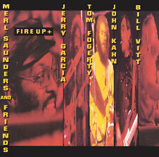 Fire Up+ by Merl Saunders & Friends (CD 1992, Fantasy) JERRY GARCIA TOM FOGERTY