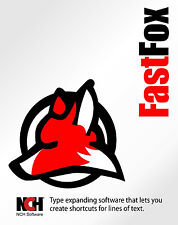 Fastfox Text Expander NCH software , Type faster for Apple Mac