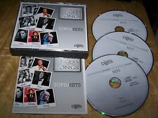 READERS DIGEST UNFORGETTABLE SINGERS & CANZONI TOP TEN 10 HITS 3 CD COFANETTO