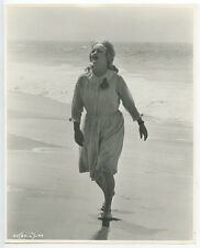 AMERICAN FILM ACTRESS BETTE DAVIS ON LOCATION VINTAGE PHOTO REPRINT ONLY 8x10