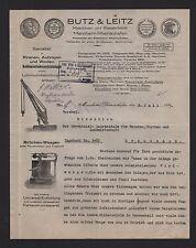MANNHEIM-RHEINAUHAFEN, Brief 1925, Maschinen- und Waagen-Fabrik Butz & Leitz