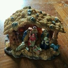 Christmas Nativity set Baby JESUS Joseph Mary wise men stable