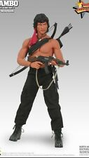 "Hot Toys 12"" RAMBO FIRST BLOOD II MMS06 John J. Rambo 1/6 Action Figure USA"
