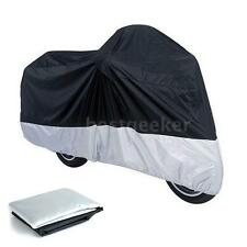 Waterproof Storage Rain Cover For Motorcycle Motorbike Scooter Moped Size L X7X3