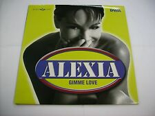 "ALEXIA - GIMME LOVE - 12"" VINYL EXCELLENT CONDITION 1998"