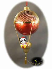 Disneyland Paris - Mickey Balloon - Christmas Ornament - Xmas + Map of the Parks