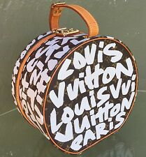 LOUIS VUITTON Monogram STEPHEN SPROUSE Graffiti Boite Chapeaux Hat Box Keepall