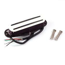 Kent Armstrong Power Blades Rails Mini Humbucker Pickup White - Hot