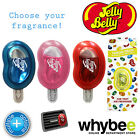 JELLY BELLY CAR VENT AIR FRESHENER WITH CLIP - 6 FLAVOURS - LASTS up 30 DAYS