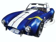 SHELBY COBRA 427 S/C BLUE W YELLOW STRIPES 1/18 DIECAST MODEL KYOSHO 08045 BLY