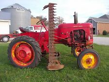 Massey Harris Pony tractor side MH sickle mower ORGINAL 1-Owner Runs Great