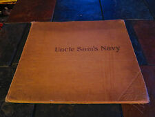 Uncle Sam's Navy Our War With Spain 1898 Photo Book Ships