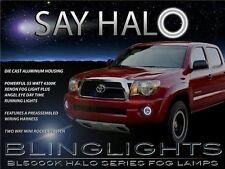 2005-2011 Toyota Tacoma Halo Fog Lamp Angel Eye Driving Light Kit + Harness