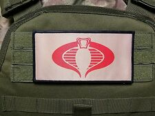 Cobra 3x6 Multicam Tan Plate Carrier Hook Loop Morale Patch Cosplay Chest Rig