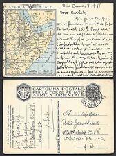 POSTA MILITARE AOI 1936 Franchigia da PM 126E a PM in Eritrea (FS8)