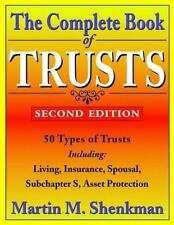 The Complete Book of Trusts Shenkman, Martin M. Paperback