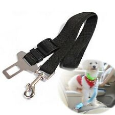 "Dog Safety Seat Belt Restraint 12""-24"" For Car Van Lock Adjustable Pet Lead"