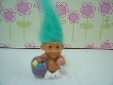 "EASTER MINIATURE / MINI BUNNY / RABBIT - 1"" Russ Troll Doll - NEW w/RUSS STICKER"