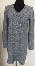 Women's Abercrombie & Fitch Cable Knit Sweater Dress - Sz S/M Gray