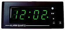 12 VOLT DIGITAL CAR ALARM CLOCK, PANEL MOUNT FOR CARAVAN, RV, MOTORHOME LQ1201AL