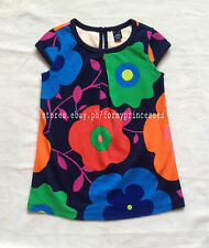 72% OFF! AUTH BABY GAP BOLD FLORAL PLEAT DRESS SIZE 5 YEARS BNEW US$19.95