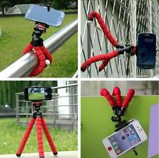 RED Octopus Adjustable Universal Tripod + Phone Holder for iPhone Samsung Sony