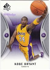 2006-07 SP AUTHENTIC BASE CARD: KOBE BRYANT #37 LA LAKERS 2x ALL-STAR GAME MVP