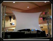 DJ SCREEN, VJ SCREEN, MOVIE SCREEN, 15'X7' (corner to corner), FRONT/REAR SCREEN