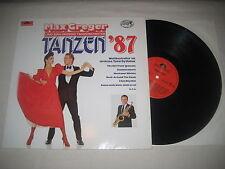 Max Greger - Tanzen '87     Vinyl  LP
