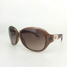 Armani Exchange Sunglasses AX113/s NXV 02 Large Oval Designer Shades A|X Brown