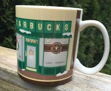 Collector Series Starbuck 18 oz Coffee Mug Cup Pike Place  2007 Japan Porcelain