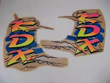 KDX200 KDX250 91-94 89 - 94 DECALS GRAPHICS 1993 MODEL YEAR RARE REPRODUCTIONS