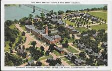 THE ARMY SERVICE SCHOOLS AND STAFF COLLEGE - LEAVENWORTH, KANSAS