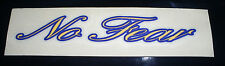Vintage 90's yellow No Fear skateboard motorcross motocross bmx bicycle sticker