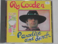 RY COODER -Paradise And Lunch- CD
