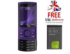 New Condition Nokia 6700 Slide Purple 3G Video Calling 5MP Camera Unlocked Phone