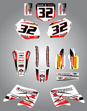 Honda CR 250 - 1997 / 1999 Full Graphic kit Storm Style Stickers Graphics