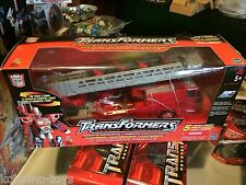 2001 Transformers RID Electronic Optimus Prime Figure MIB