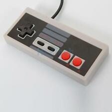 Classic Gaming PC USB Controller For Retro Nintendo NES Windows Gamepad Gray