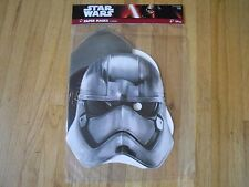 3 Counts Star Wars Episode VII Celebrity Paper Villain Mask With Elastic Strap