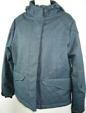 Vintage Woolrich BLUE  mountain parka women's  hood  QUILTED LINING EUC