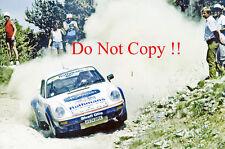 Henri Toivonen Porsche 911 SC RS Mille Pistes Rally 1984 Photograph