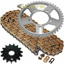 Golden O-Ring Drive Chain & Sprockets Kit Fits SUZUKI GSX750F Katana 750 1998-06