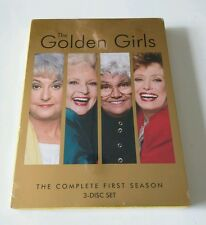 "The Golden Girls - The Complete First Season (DVD, 2004, 3-Disc Set) ""NEW"""