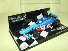 BENETTON B198 G. FISICHELLA LAUNCH 1998 MINICHAMPS