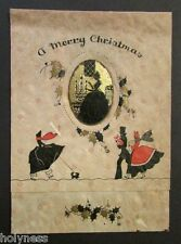 VINTAGE CHRISTMAS CARD /  PUERTO RICO / 1933