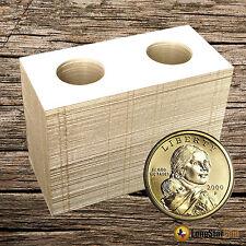 25 2x2 SMALL DOLLAR Mylar Cardboard Coin Holder Flips - Coin Supplies