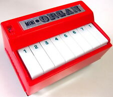 DAIYA Red Mini-Organ Very Cute & Rare!  1970's Japan