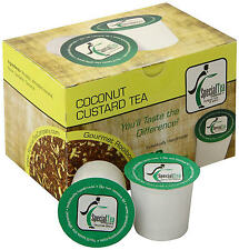 Coconut Custard Single Serve Pod (compatible with Keurig brewer) 10 Cups
